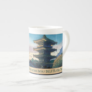 Kyoraku attractions Nomura Yasaka pagoda sunshine Porcelain Mugs