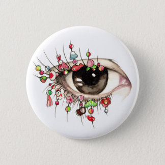 """Kyoto Eye"" Erica Ward Original Pin"