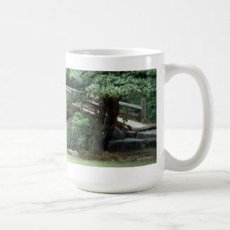 Kyoto Garden 1 Basic White Mug