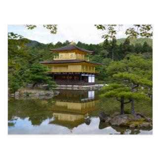 Kyōto Kyoto - Japan golden pavilion Kinkaku ji Postcard