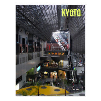 Kyoto Station Interior Postcard