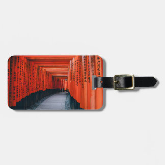 Kyoto' thousand Torii corridor luggage tag