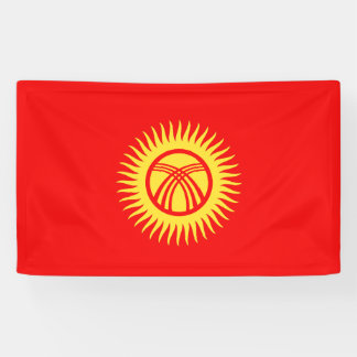 Kyrghyzstan Flag Banner