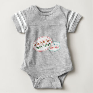 Kyrgyzstan Been There Done That Baby Bodysuit