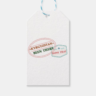 Kyrgyzstan Been There Done That Gift Tags