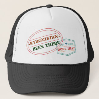 Kyrgyzstan Been There Done That Trucker Hat