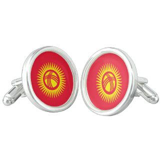 Kyrgyzstan Flag Cufflinks