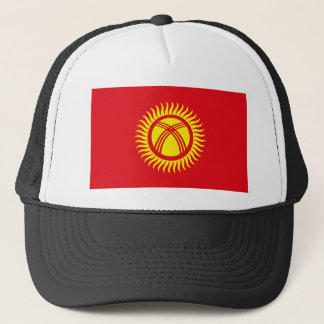 Kyrgyzstan Flag Hat