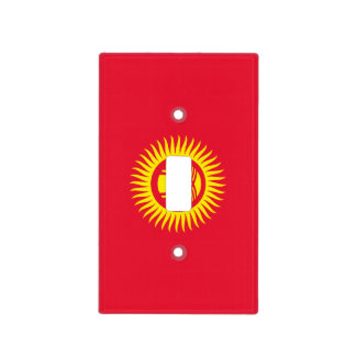 Kyrgyzstan Flag Light Switch Cover
