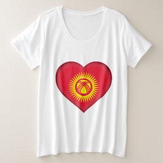 Kyrgyzstan Flag Plus Size T-Shirt