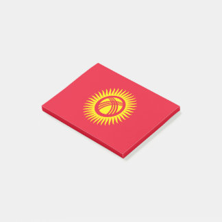 Kyrgyzstan Flag Post-it Notes
