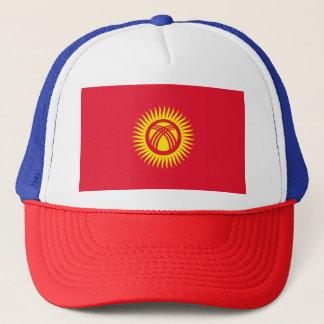 Kyrgyzstan Flag Trucker Hat
