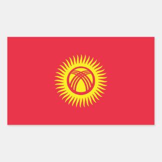 Kyrgyzstan/Kyrgyz/Kirghiz Republic Flag Sticker