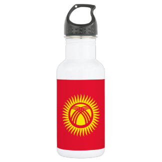 Kyrgyzstan National World Flag 532 Ml Water Bottle