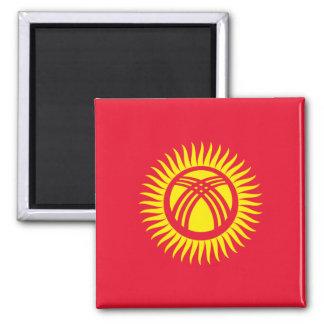 Kyrgyzstan National World Flag Magnet