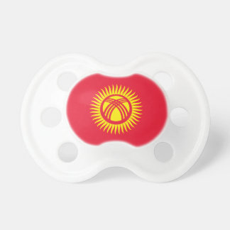 Kyrgyzstan National World Flag Pacifier
