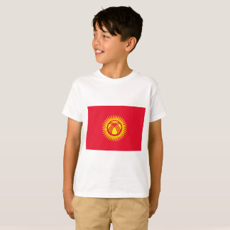 Kyrgyzstan National World Flag T-Shirt