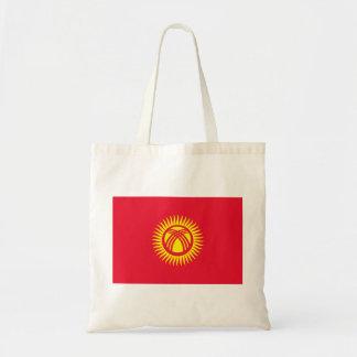 Kyrgyzstan National World Flag Tote Bag