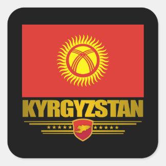 Kyrgyzstan Pride Square Sticker