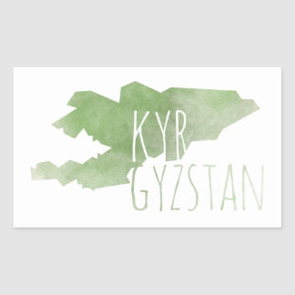Kyrgyzstan Sticker