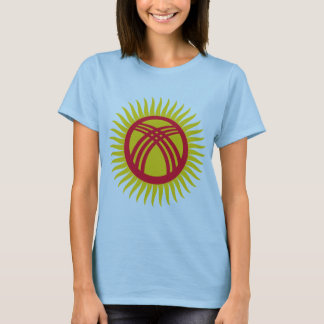 Kyrgyzstan   tunduk, Latvia T-Shirt
