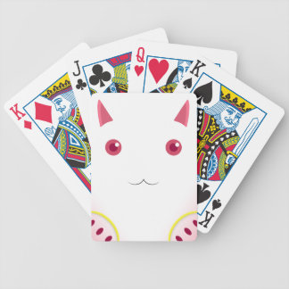 Kyubey's Gaze Bicycle Playing Cards