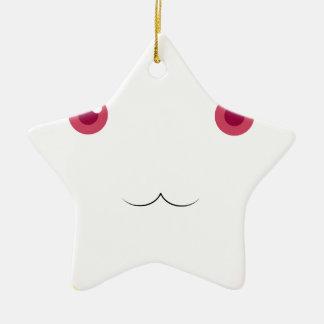 Kyubey's Gaze Ceramic Star Ornament