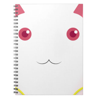Kyubey's Gaze Spiral Note Books