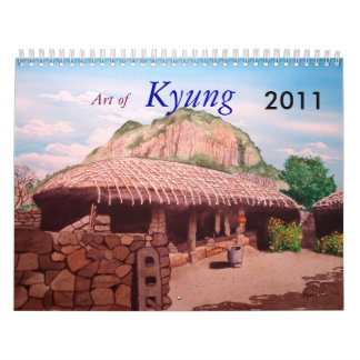 KYUNG KIM calender 2011 Calendars