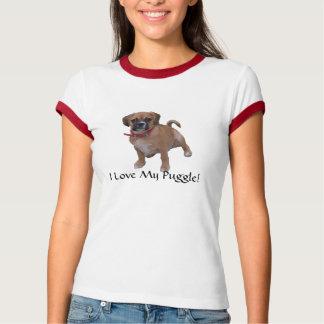 l1, I Love My Puggle! T-Shirt