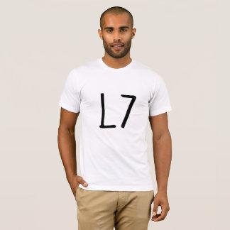 L 7 Square Shirt Funny