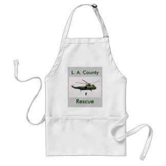 L.A. County Sheriff Rescue, L. A. County, Rescue Standard Apron