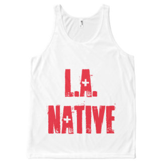 L.A. Native: Rare as Diamonds All-Over-Print Tank Top