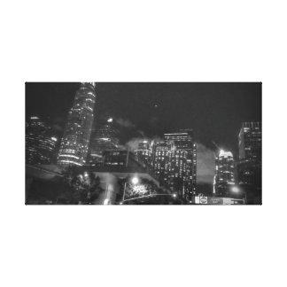 L.A. Night time canvas pringt