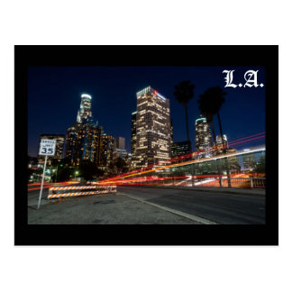 L.A. speed Postcard