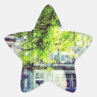 L académie stickers en étoile