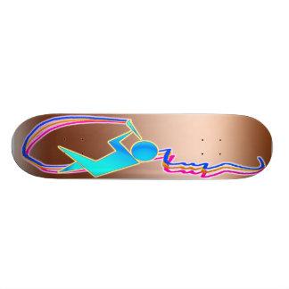 L artiste plateaux de skate
