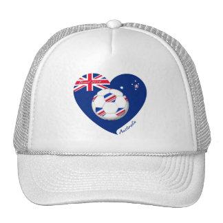 L «AUSTRALIE» Soccer Team Football de l Austral Casquettes De Camionneur