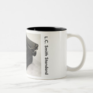 L.C. Smith Standard typewriter Two-Tone Coffee Mug