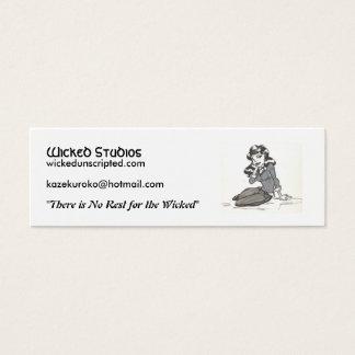 l_cb9c7b93e7bddd4cda39731fb055e77b, Wicked Stud... Mini Business Card