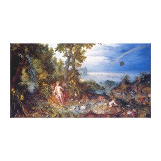 L eau avant janvier Brueghel l aîné Toiles Tendues Sur Châssis