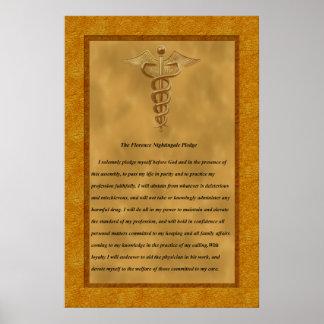 L engagement de Florence Nightingale Affiches