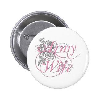 L épouse d armée s est levée badges avec agrafe