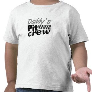 L équipe du stand de ravitaillement du papa t-shirt