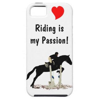 L équitation est mon cas de l iPhone 5 de passion Coques iPhone 5 Case-Mate