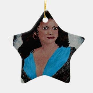 L ESPAGNOLE.png Ceramic Star Ornament