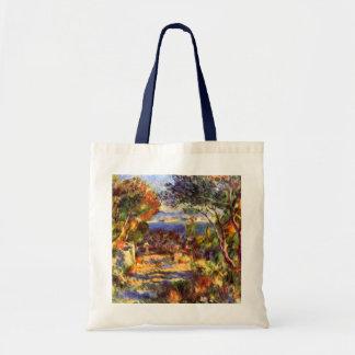 L Estaque by Renoir Vintage Impressionism Art Tote Bag