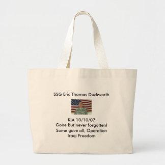 l_f38284182fd2416b6e185406bfb45c92, SSG Eric Th... Jumbo Tote Bag