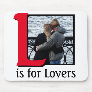 L for Lovers Mouse Pad
