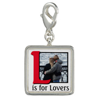 L for Lovers Photo Charms